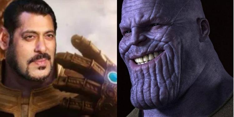 Thanos Memes India