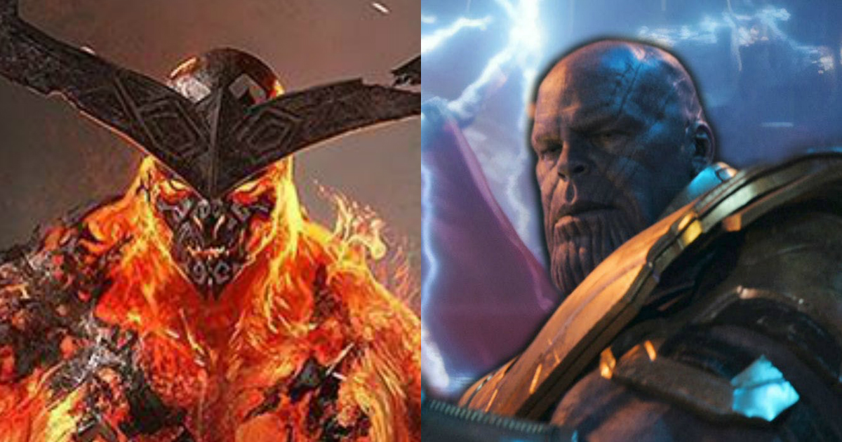 Thanos vs Surtur