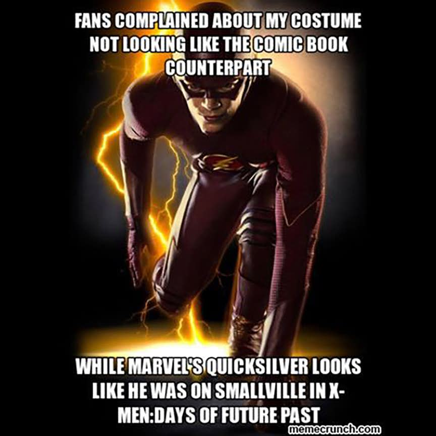 30 Hilarious The Flash Vs Quicksilver Memes That Might