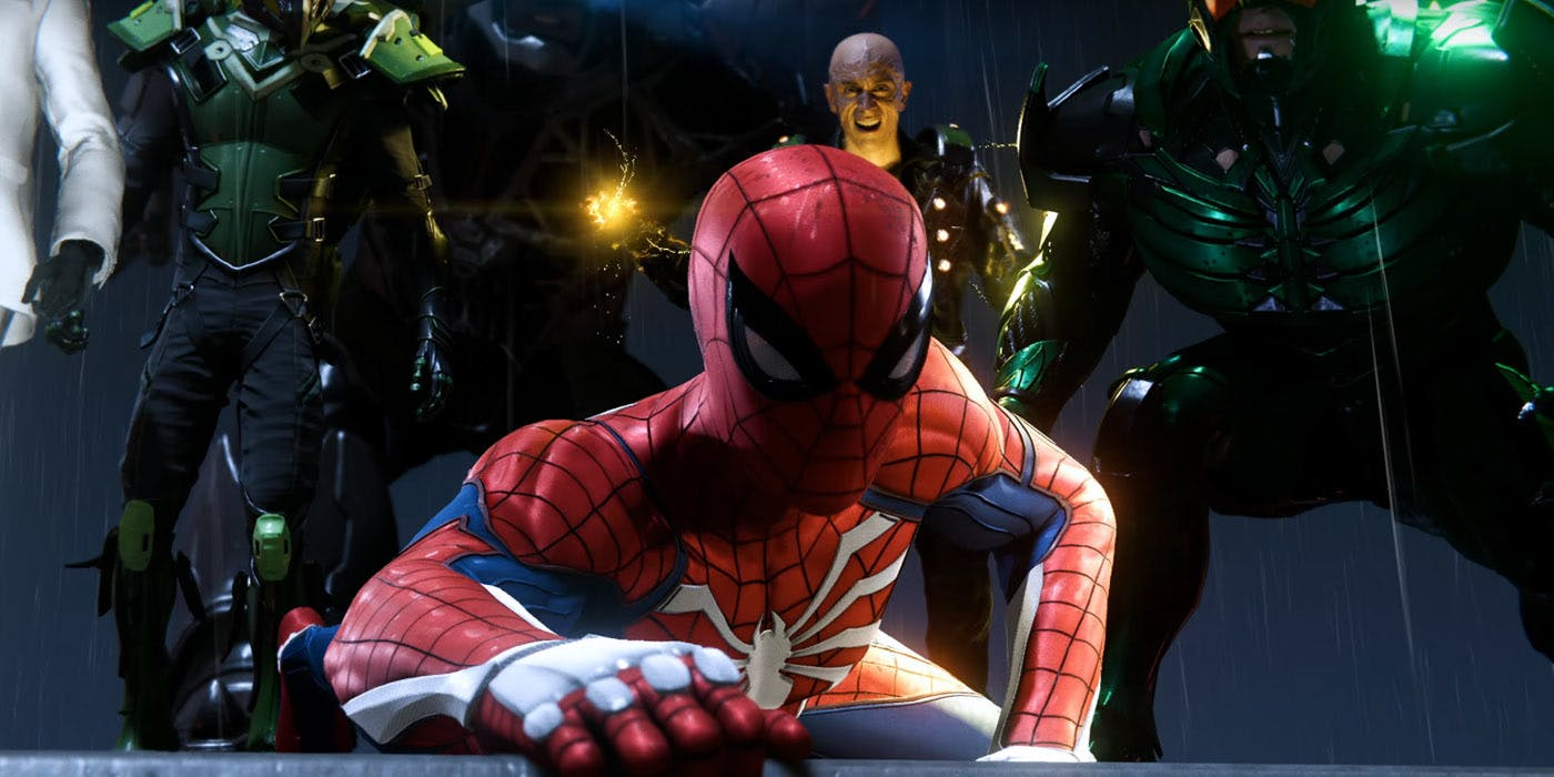 Image result for marvel's spider-man ps4 villains