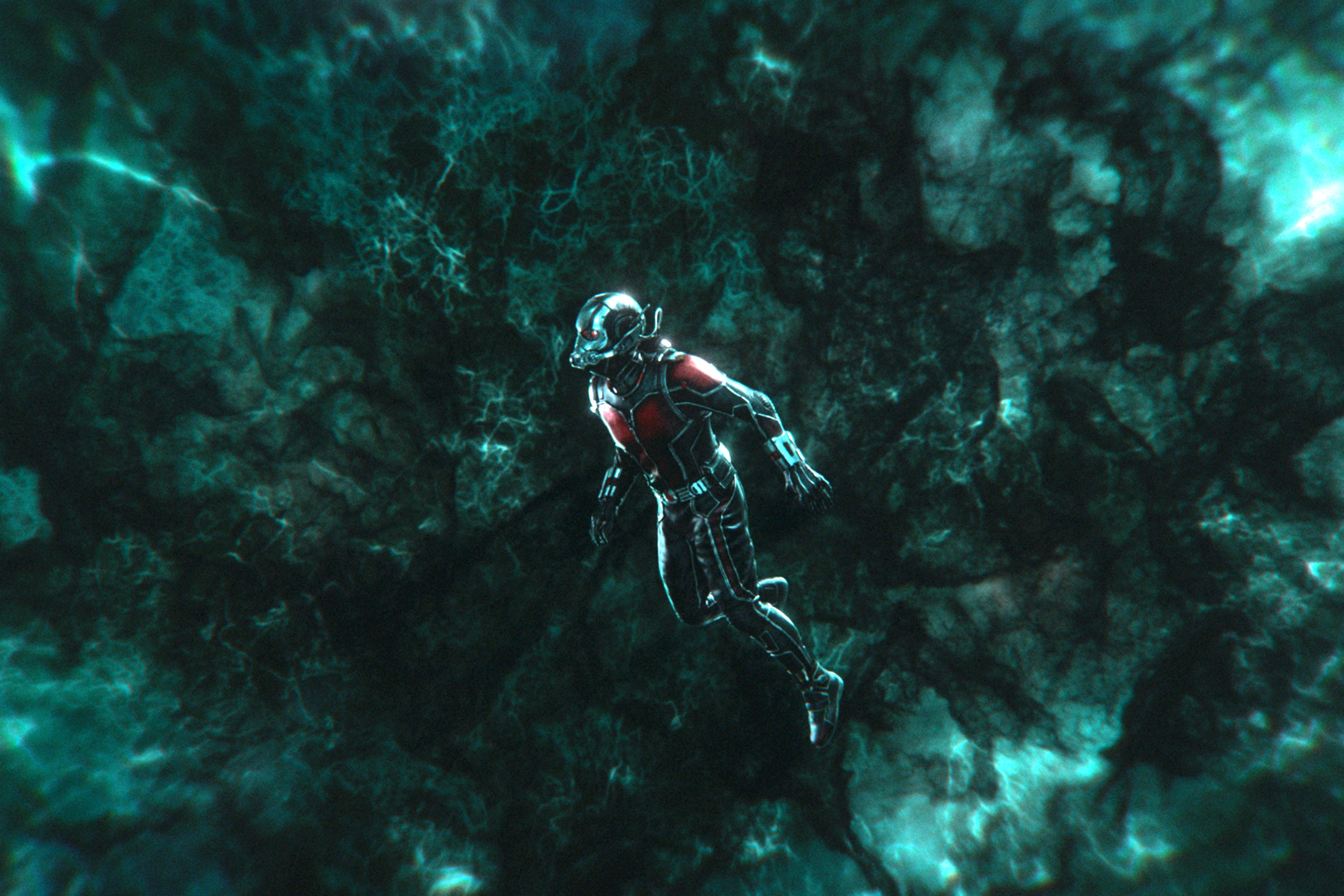 Ant-Man and the Wasp quantum-realm