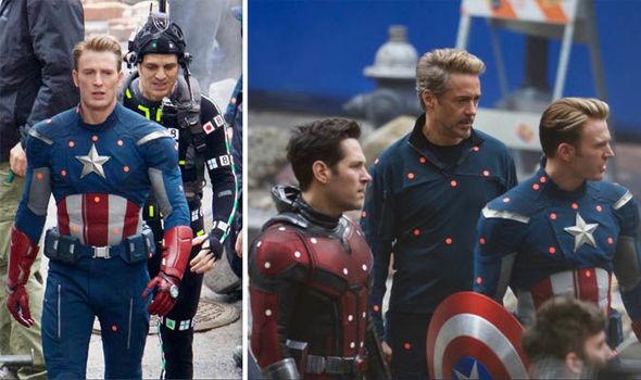 Avengers 4 Captain America Costume