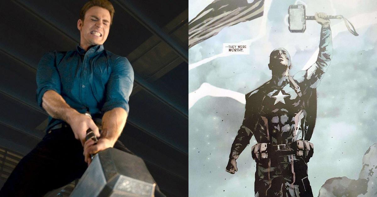 4c61df95b17 Avengers 4 Theory  Rumor – Captain America Will Wield Mjolnir