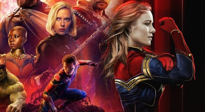 Captain Marvel Presales Avengers: Infinity War