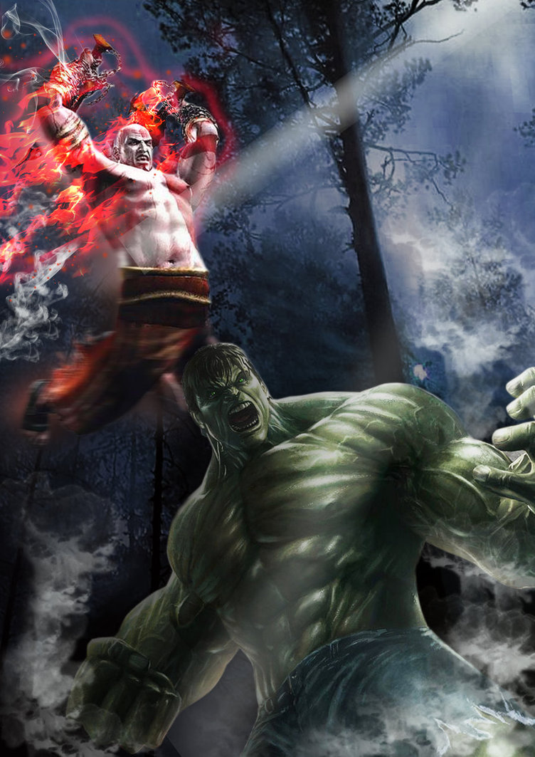 Kratos Vs Hulk