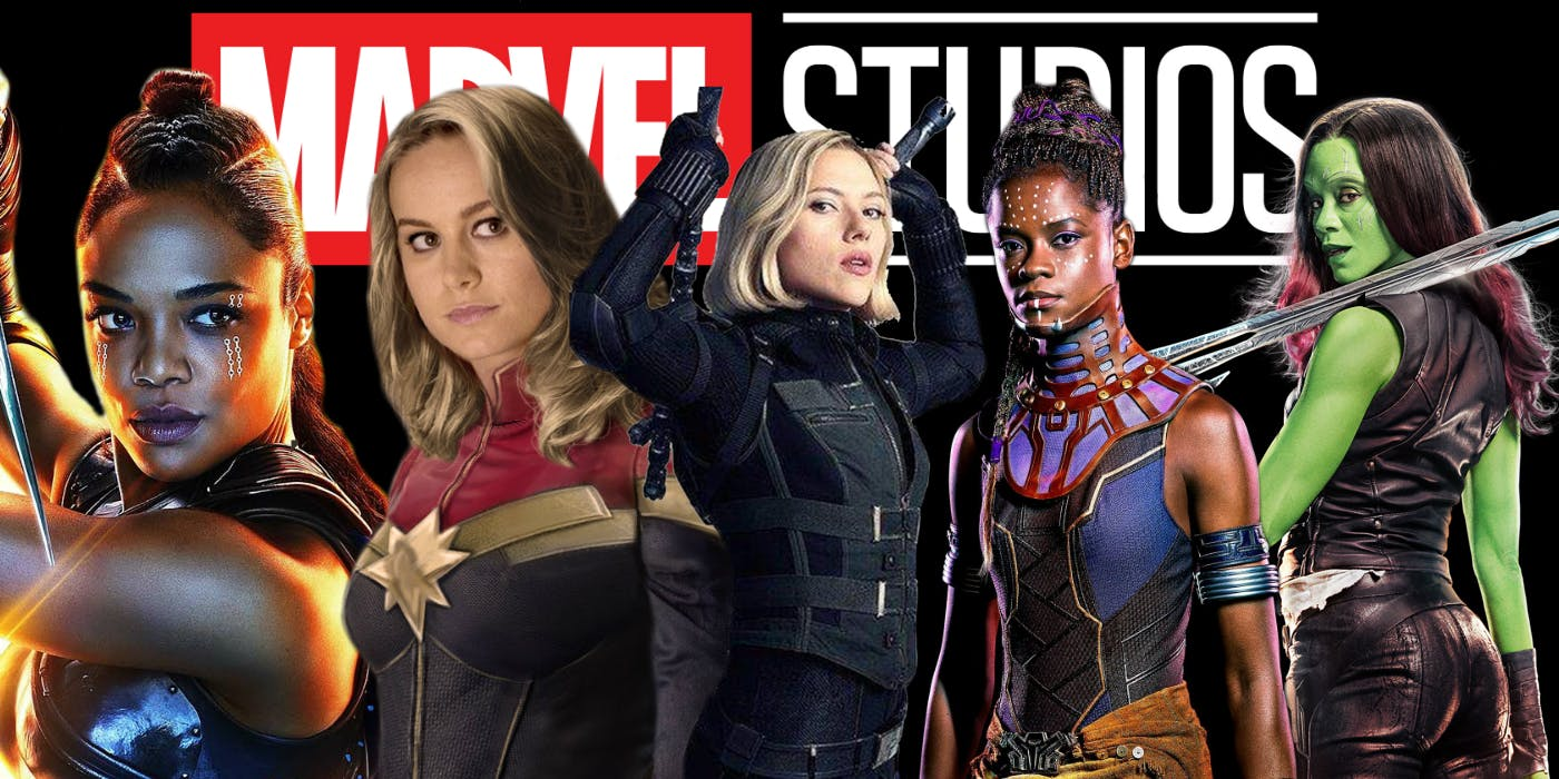 Female superheroes MCU Marvel