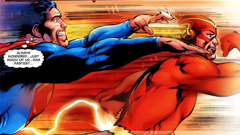 DC Comics Have Answered Who Is Faster: The Flash Or Superman?