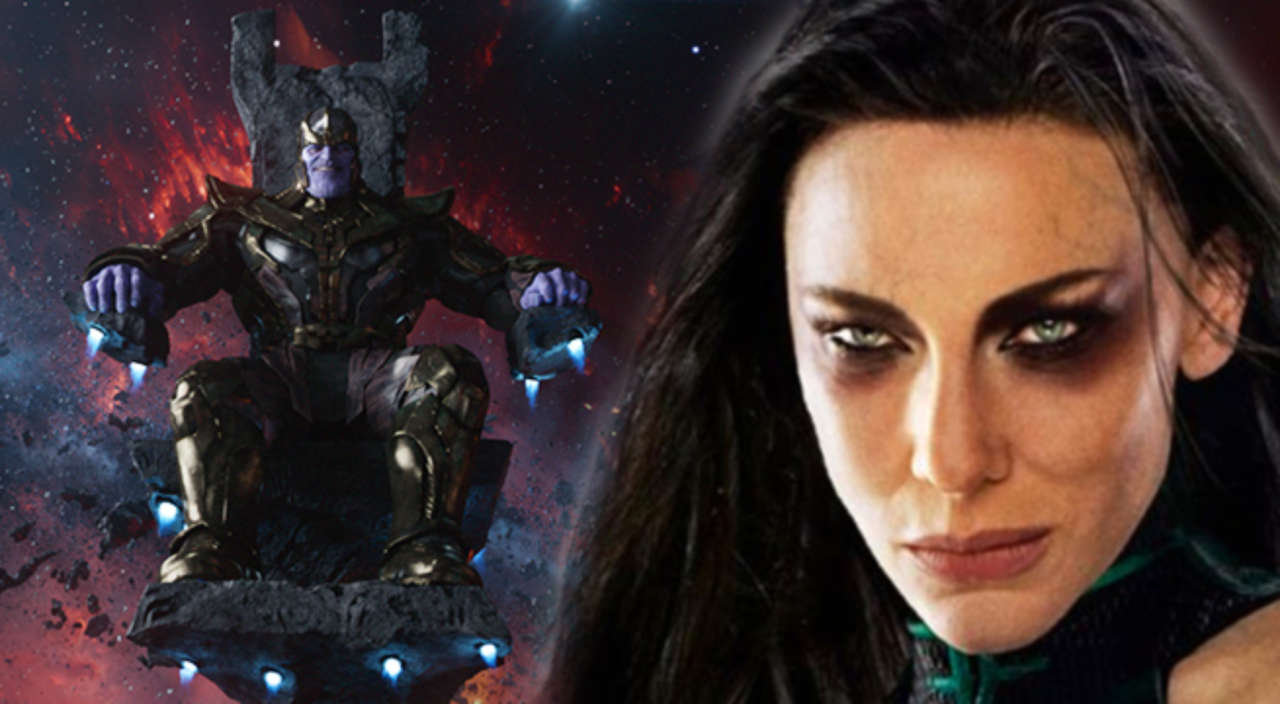 Thanos Vs Hela