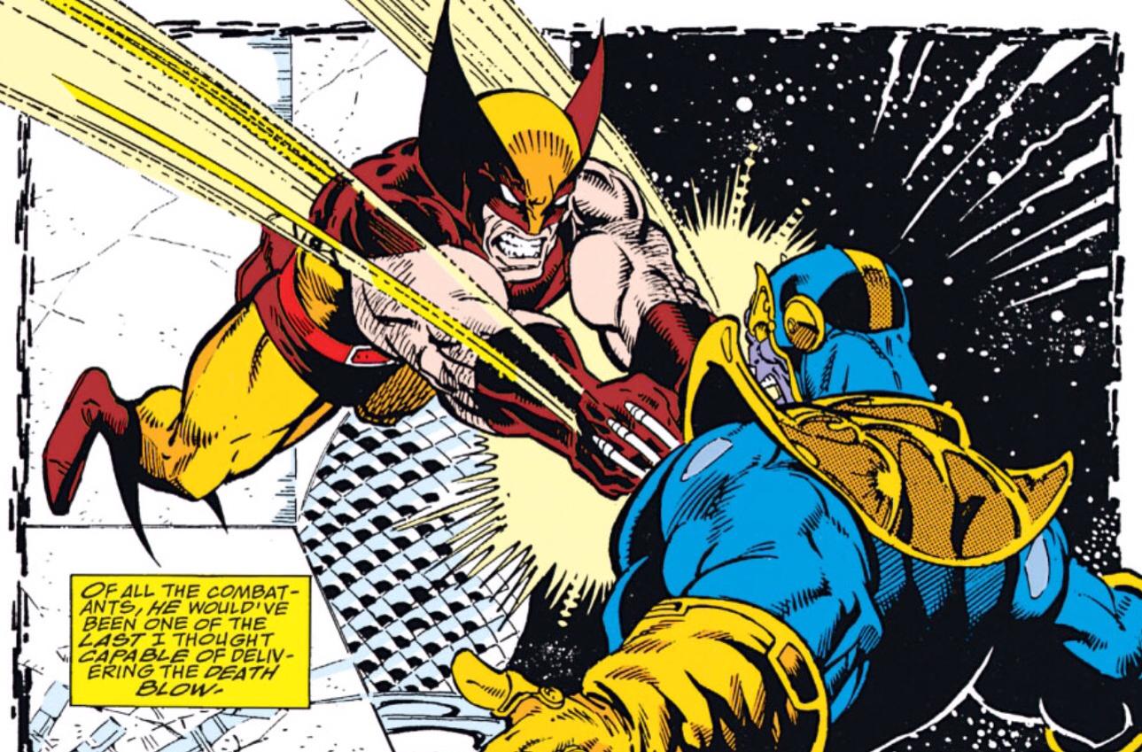 Wolverine Infinity Gauntlet Marvel Comics