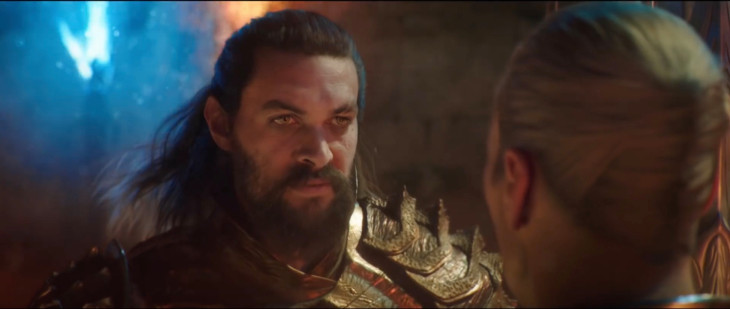 Ending of Aquaman Jason Momoa