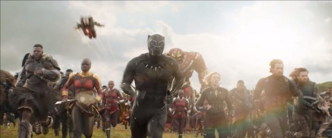 Avengers: Infinity War Deleted Scene Nebula Star-Lord