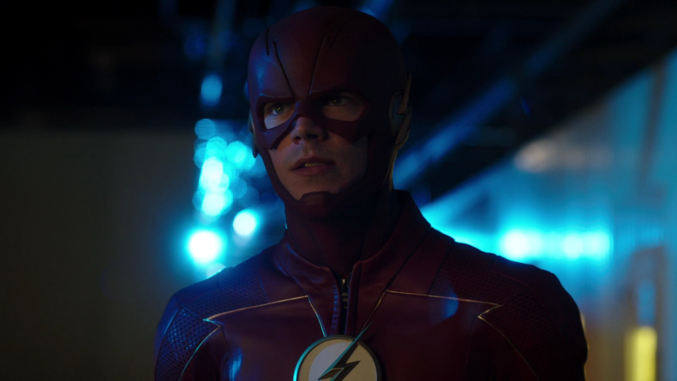 Grant Gustin Flash's Suit