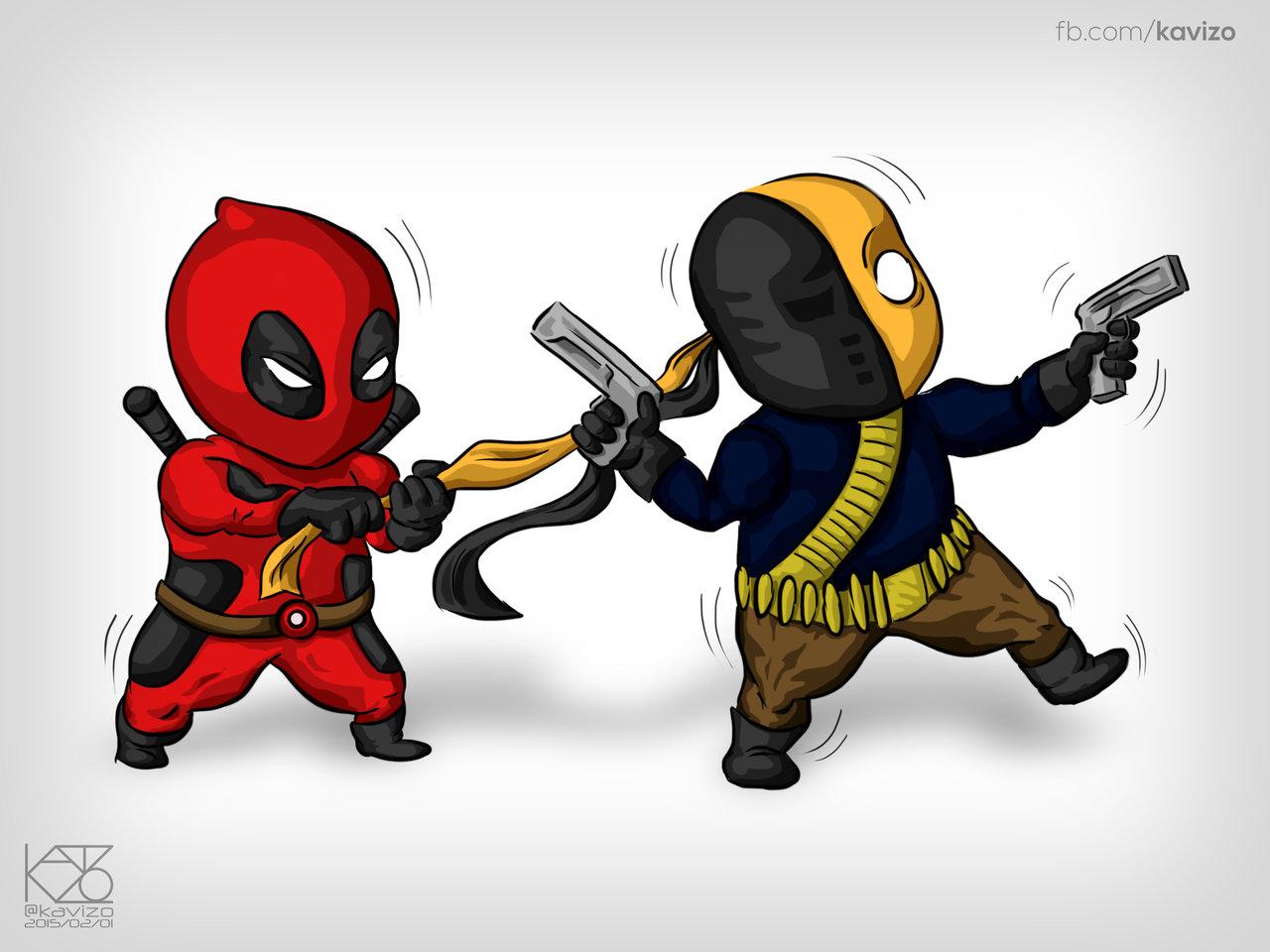 Deadpool Vs Deathstroke Memes