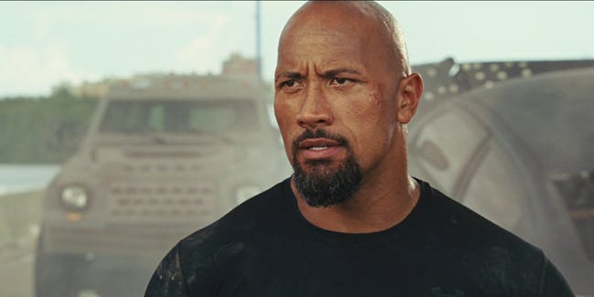 The Rock Hobbs and Shaw
