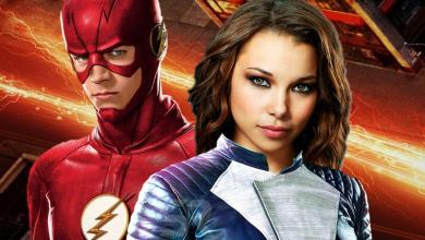 Photo of The Flash Season 5 Official Poster Shows Scarlet Speedster In a New Suit