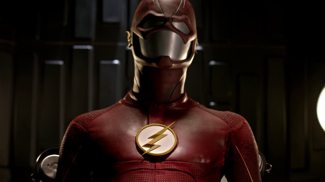 The Flash Season 5 Official Poster Shows Scarlet Speedster In a New Suit