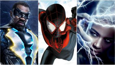 Photo of 10 Black Superheroes with Incredible Electricity Manipulation Superpowers