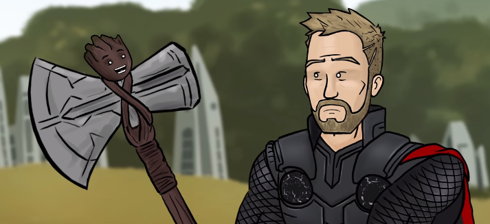 Alternate Ending for Avengers: Infinity War
