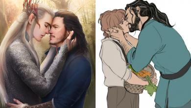 Photo of 30 Super Insane Fan Art Designs Of Unexpected Lord Of The Rings Couples