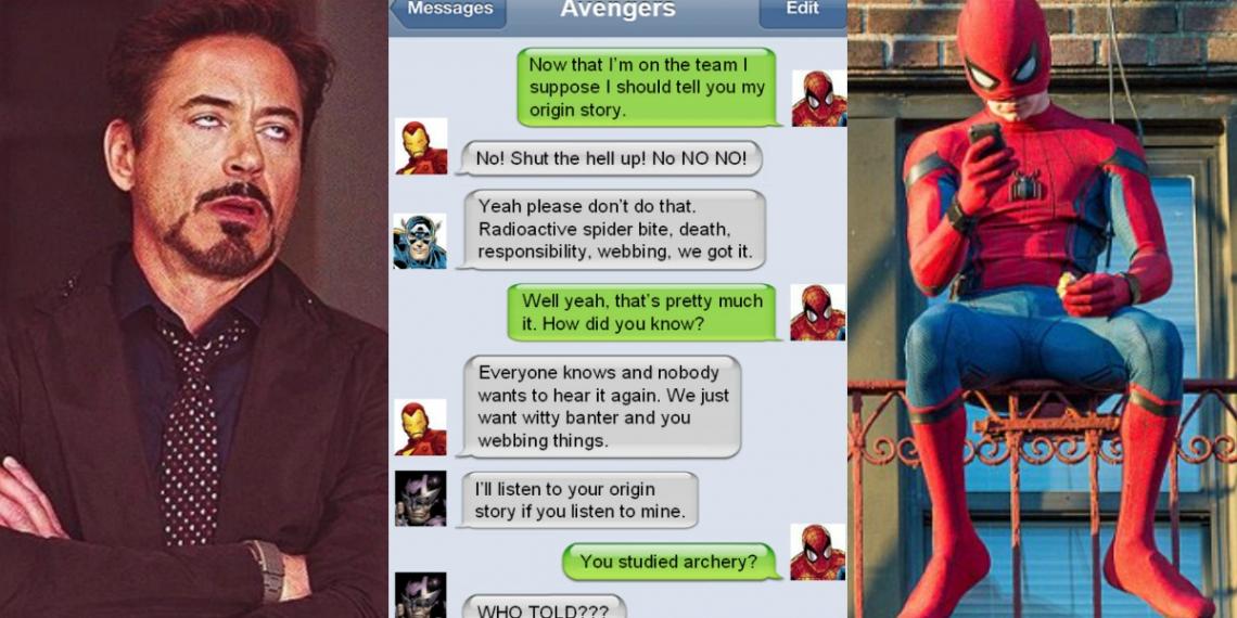 Marvel Superhero Text Memes