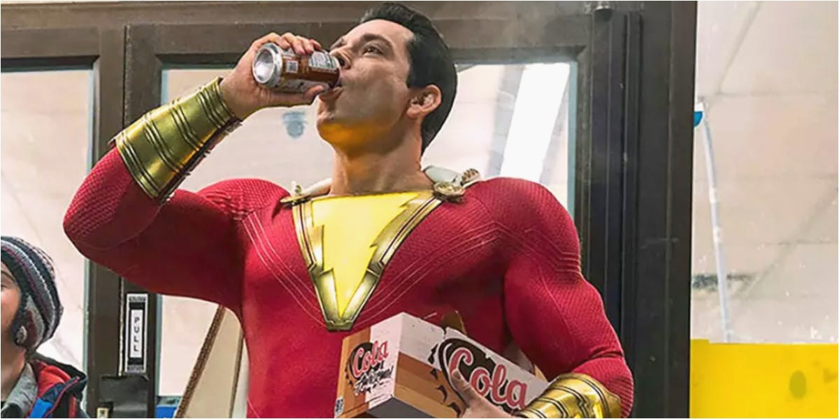 Shazam Justice League Easter Eggs