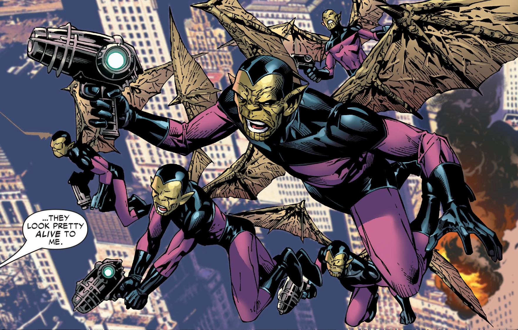 Avengers Skrulls