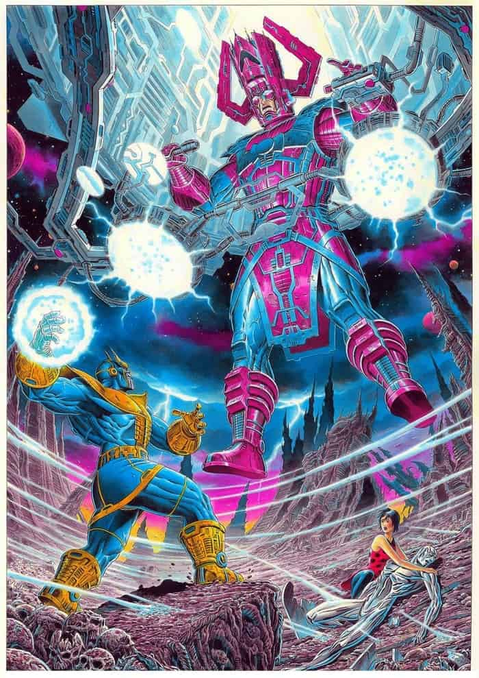 Galactus VS Thanos