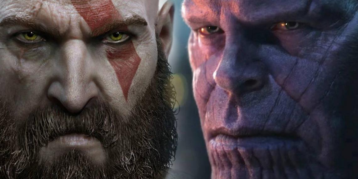Thanos Vs Kratos