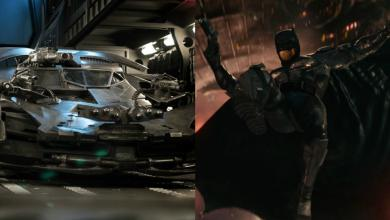 Photo of Justice League Deleted Scene Image Shows Batman Materializing The Batmobile