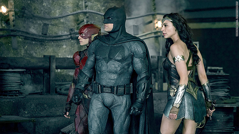Justice League New Footage Shows An Extended Flash Running Scene