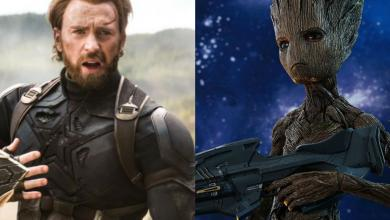 Photo of Avengers: Infinity War – Groot and Steve Rogers First Meeting Scene Released