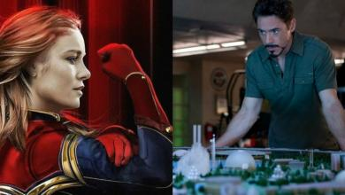 Avengers: Endgame Theory Tony Stark Captain Marvel
