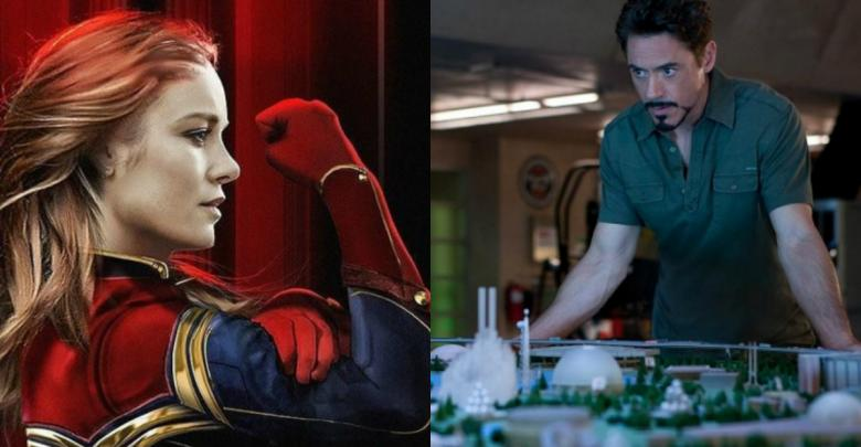 Avengers: Endgame Theory Tony Stark Captain Marvel