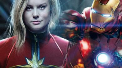 Photo of Avengers 4 – New Fan Art Shows Captain Marvel Carrying Iron Man's Dead Body
