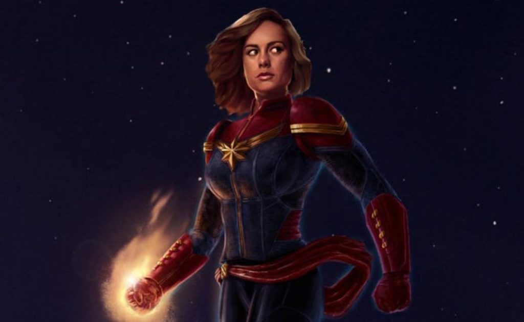 New Captain Marvel Merchandise Provides Stunning New Look Of Brie Larson