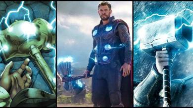 Photo of MCU: First Designs for Thor's Mjolnir Revealed by Marvel Artist!