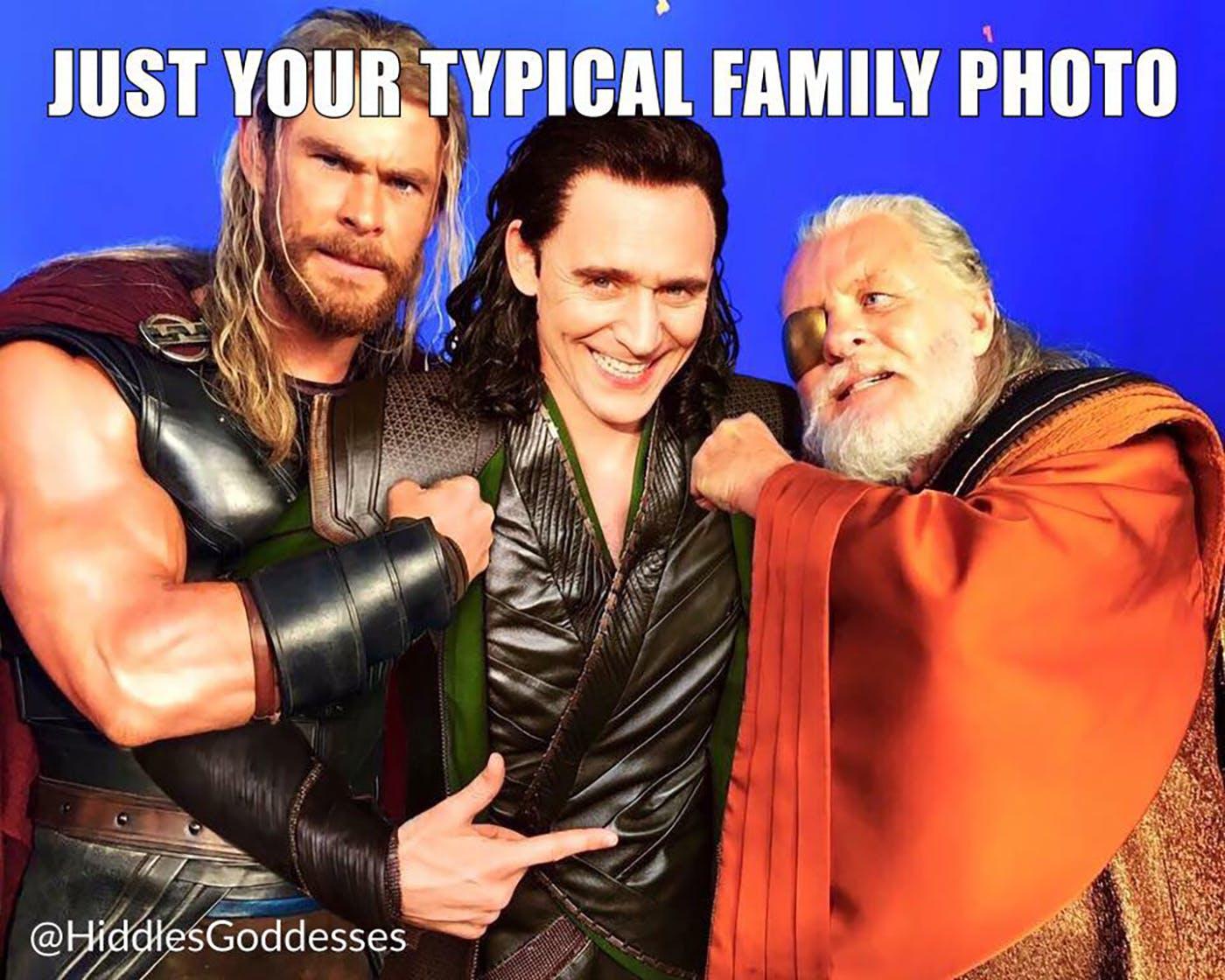 Thor Family Memes