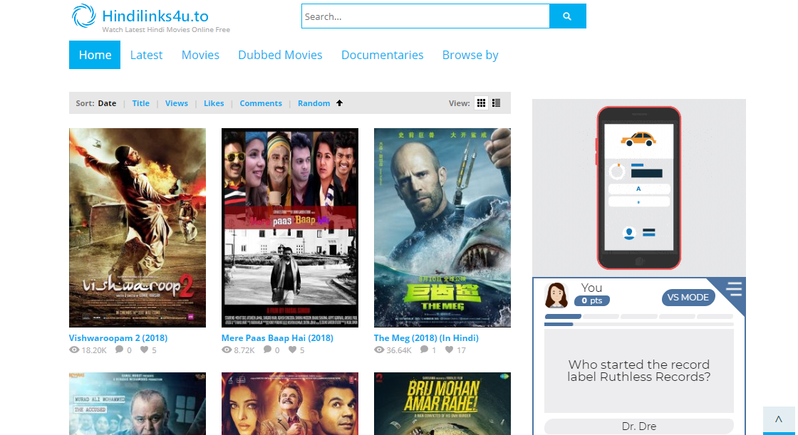Watch Bollywood Movies Online For Free Without Downloading - QuirkyByte