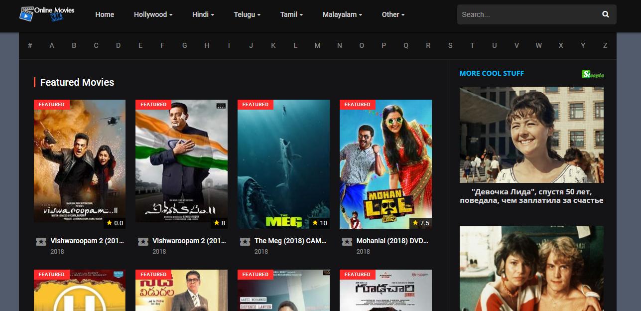 hindi movies sites