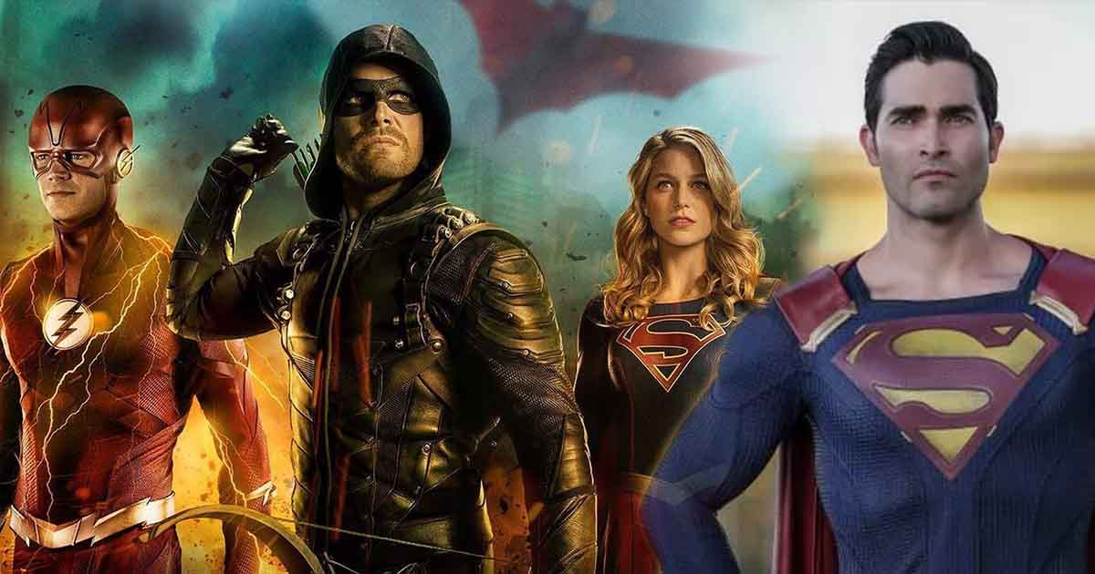 Photo of Elseworlds Crossover Set Photos Finally Bring Flash, Arrow, Supergirl & Superman Together