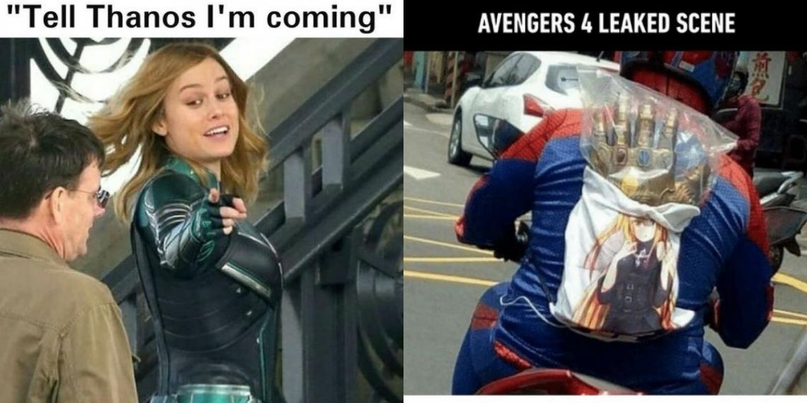 Avengers 4 Memes