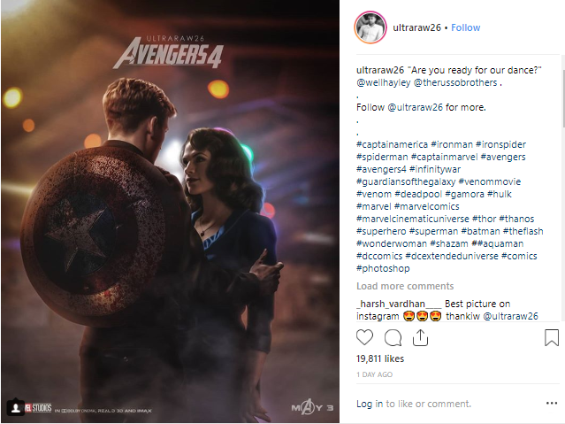 Avengers 4 Fan Art