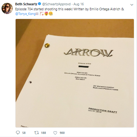 Arrow Season 7 Mystery Episode Title