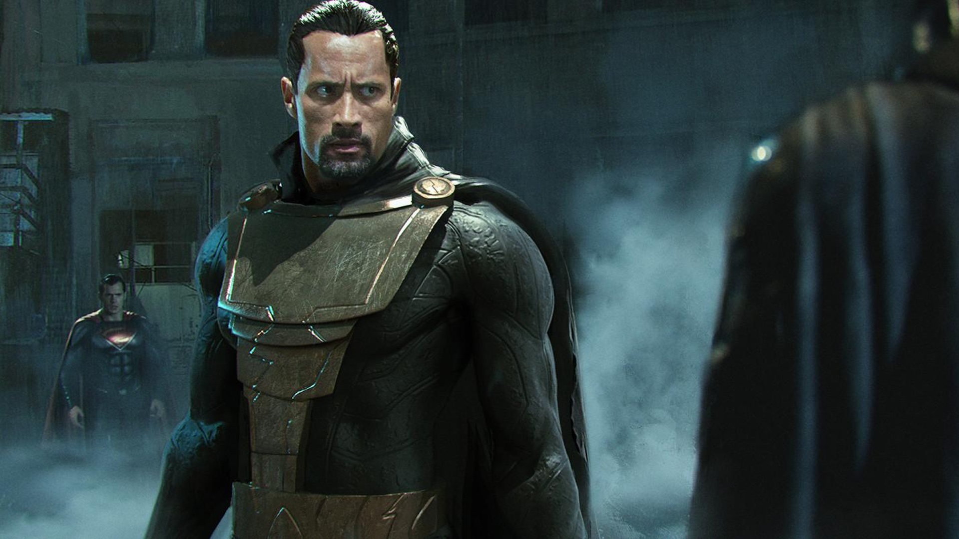 Shazam! Post Credits Scene Black Adam
