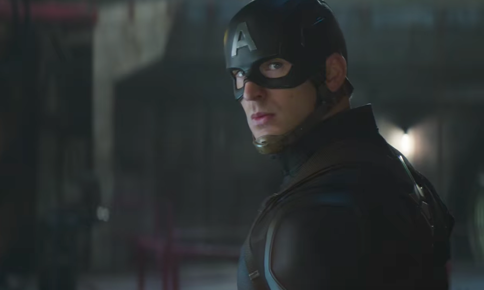Captain America Cut Scene in Avengers Infinity