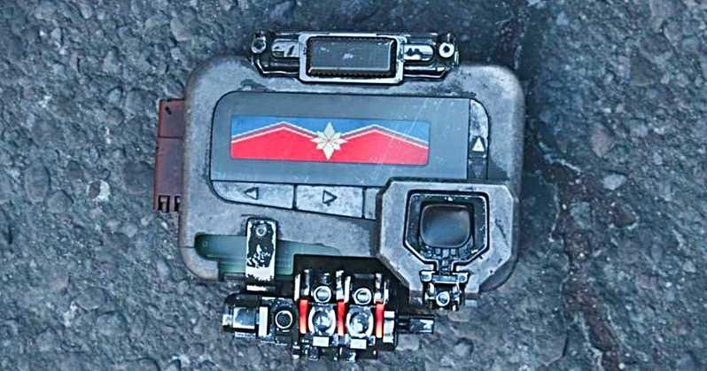 Captain Marvel Easter Eggs Infinity War