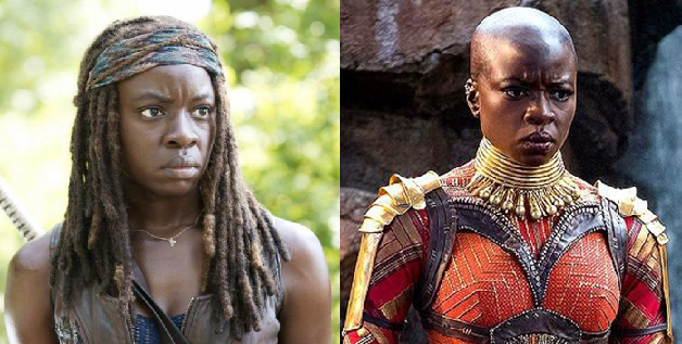 Black Panther Star Danai Gurira Wins The Best Action Star Pe