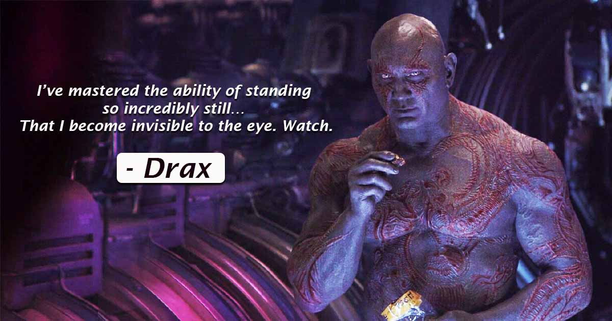 Photo of 15 Drax The Destroyer Quotes From Infinity War and Guardians Of The Galaxy