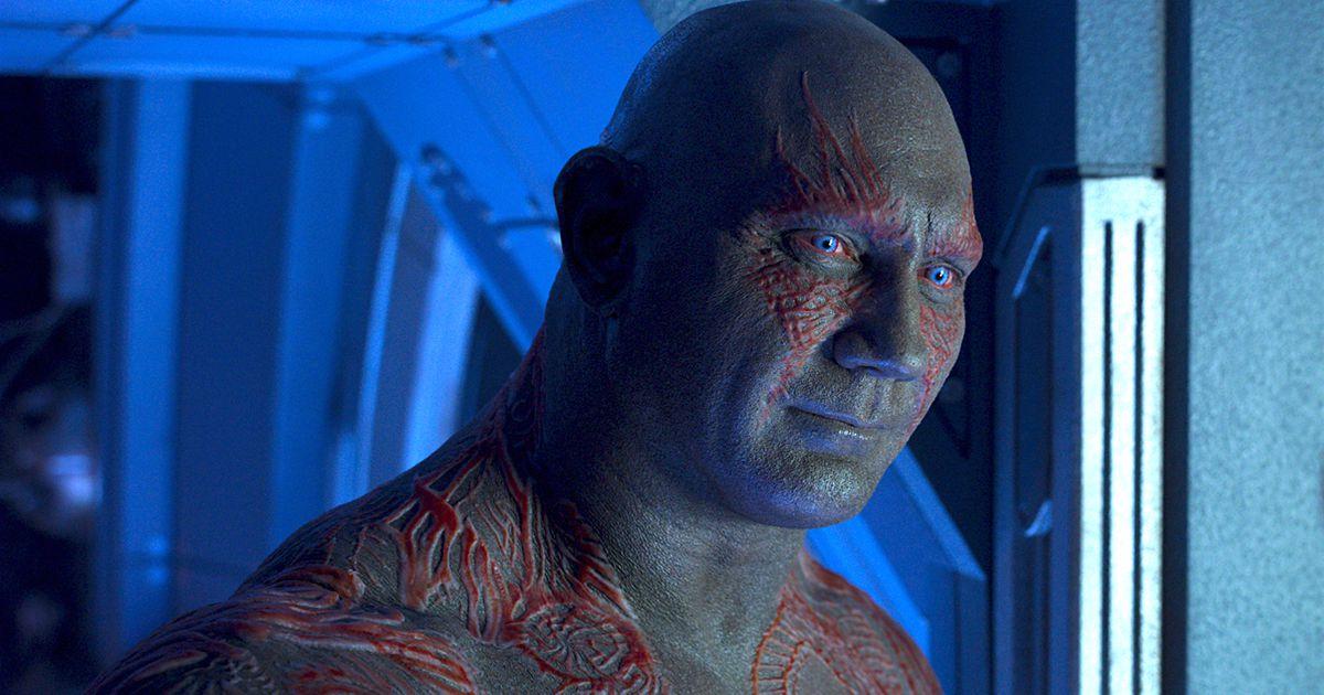 Avengers: Infinity War Concept Art Thanos Drax