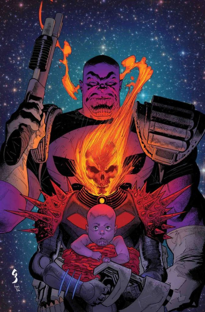 Thanos becomes the Punisher Marvel Comics